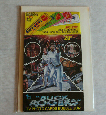 1979 Topps Buck Rogers Clean EMPTY Box ~Time To Upgrade Your Marked Box