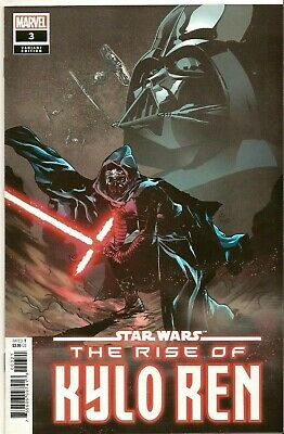 Star Wars Rise Of Kylo Ren #3 (Marvel 2020) 1St Print Landini 1:25 Variant Nm