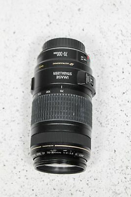 Canon Lens EF 70-300mm F4-5.6/ƒ IS Image Stabilized USM Ultrasonic Zoom Lens