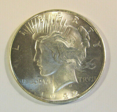 1922  TWO HEADED MAGICIANS TRICK PEACE DOLLAR   COIN  Has 2 Heads