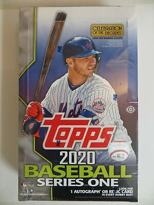 2020 Topps Series 1 Baseball Factory Sealed Hobby Box + Silver Pack