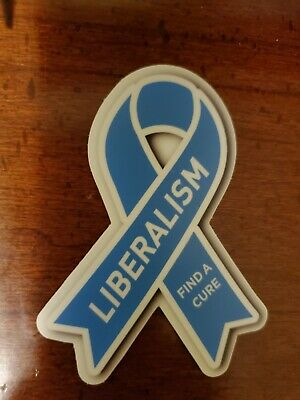 Liberalism is a mental disorder Help Find The Cure Political sticker
