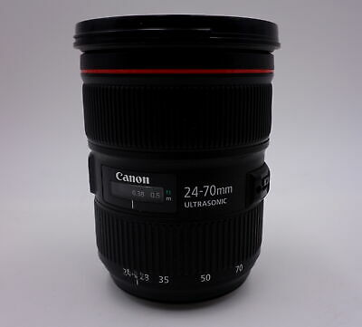 Canon Zoom Lens Ef 24-70Mm 1:2.8 L Ii Usm Ultrasonic