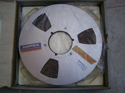 "AMPEX GRAND MASTER 456 1"" 1 INCH x 10.5"" PROFESSIONAL REEL TO REEL TAPE USED"