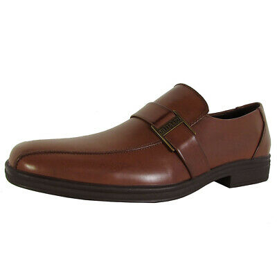 Kenneth Cole Unlisted Mens Lay Low Slip On Loafers, Cognac, EU 41.5 / US 11