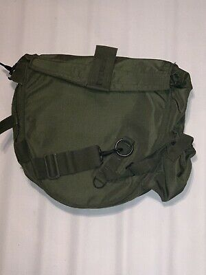 US Military Gas Mask Canvas Bag Chemical Biological Field Bag
