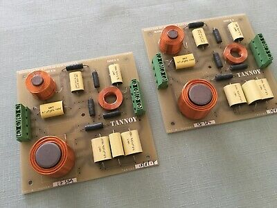 """Pair of after market crossovers for Tannoy 12"""" and 15"""" speakers"""