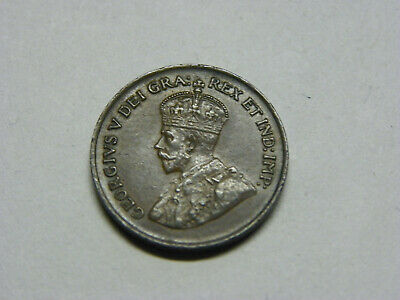 1920 Canada Canadian One 1 Cent King George V Coin UNCIRCULATED DETAILS