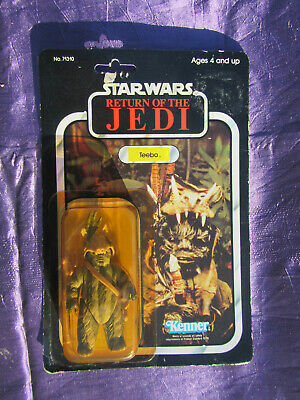 Star Wars Return of the Jedi vintage Teebo 77 on back sealed on the Card