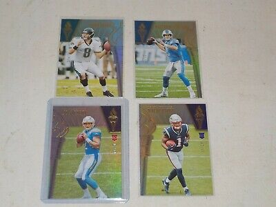 2019 Passing the Torch Serial #d /10 Lot of 4 Cards w/ N'Keal Harry Rookie, A21