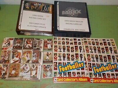 Huge Lot of Collectibles w/ Complete Sets 1981 Topps Soccer Albums Nice! Z76