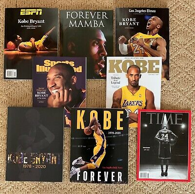 8 Issues Kobe Bryant Time Sports Illustrated ESPN Special Edition 2020 Tribute
