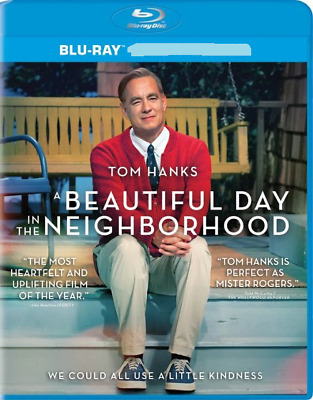 A Beautiful Day in the Neighborhood (Blu-ray Disc, 2019) Never Viewed NO CASE