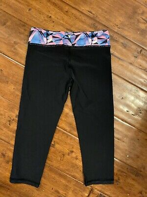 IVIVVA Lululemon Girls Reversible Leggings Size 10