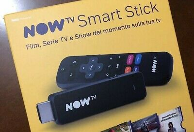NOW TV Stick Nuovo compatibile NETFLIX DAZN YOUTUBE - € 9.49