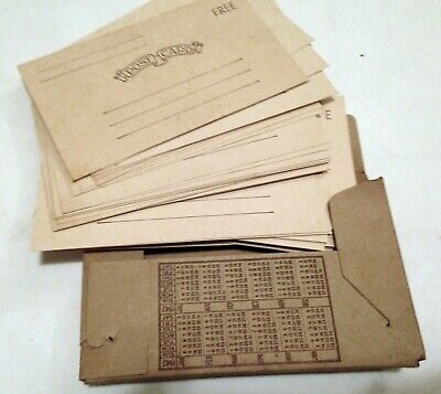 WORLD WAR II U.S. ARMY ISSUE POST CARD PACK FOR GIs NOS WW2 1942 COMPLETE