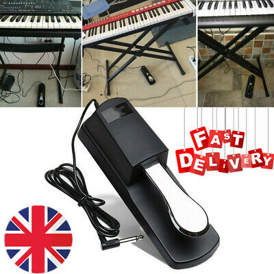 Electric Piano Keyboard Damper Sustain Switch Foot Pedal Sustain Pedal Musical