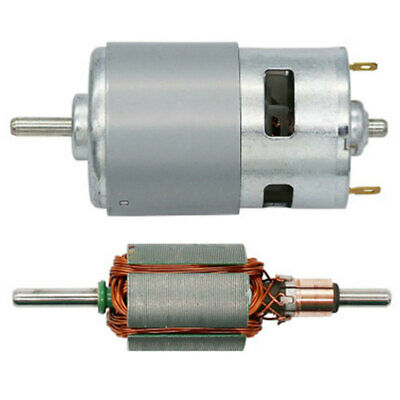 Large Torque Electric DC Brushless Motor 12V 100W 10000rpm High Power 7 MAU