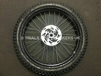 Gas Gas Txt Pro Front Wheel With Disc & Tyre Fits Marzocchi Forks & Others