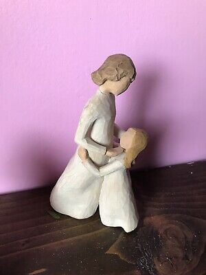 Willow Tree Figures , Mother And Daughter 2000 Susan Lordi