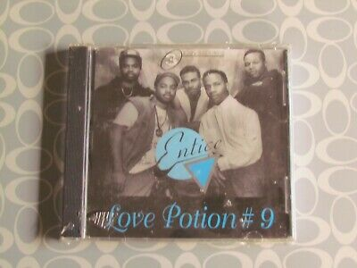 Entice CD Single Love Potion #9 Remix Indie R&B Sealed