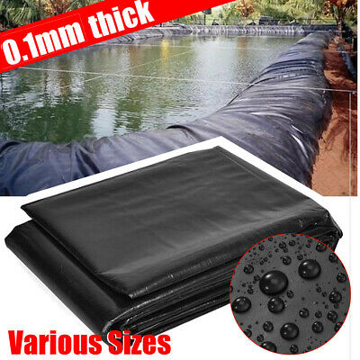 9 Sizes Pond Liner Durable HDPE Fish Guarantee Pool  for All Weather Garden