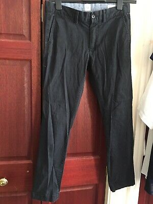 1 Pair Of GAP mens Black Jeans Skinny Fit 30 Waist X 30