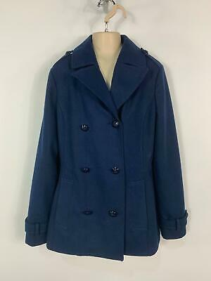 Girls Tommy Hilfiger Blue Smart/Casual Winter Over Coat Jacket Kids Age 14 Years