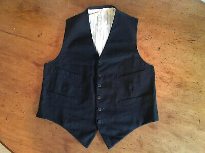 Vintage 1940`s Waistcoat. Utility CC41 With Label. Good Condition.