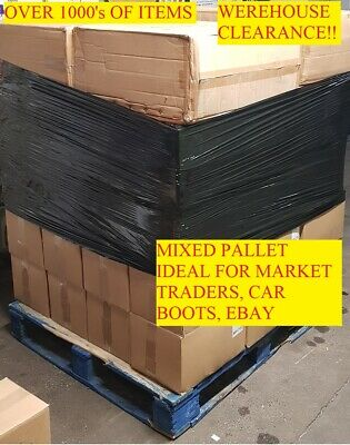 1000+Pcs Wholesale Clearance Pallet Job Lot Mixed Beauty Item Bulk Free Delivery