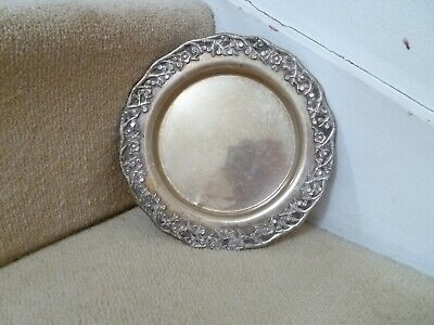 Antique Chinese Export Silver Tray