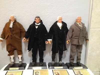 "Formative Int'l Presidents Of The United States Posable Dolls 11 1/2 "" Tall Gr"