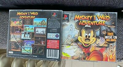 Mickey's Wild Adventure / Jeux Ps1 Complet En Boite + Dragon Ball / Playstation