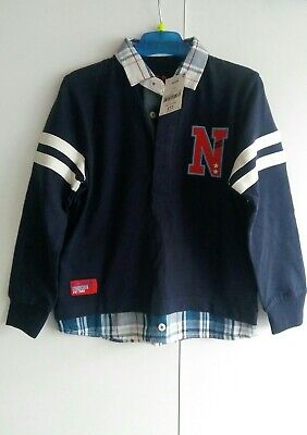 BNWT Next Boys Mock Shirt Age 4-5 years