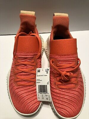 adidas AlphaBOUNCE Trainer Womens Linen Training Sport Shoes Sneakers DB2676 7.5