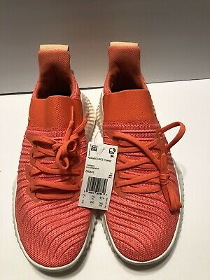 adidas AlphaBOUNCE Trainer Womens Linen Training Sport Shoes Sneakers DB2676 9.0