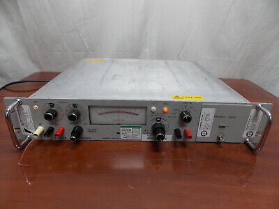 Singer Gertsch Pav-4Br Phase Angle Voltmeter W/ 400 Hz Frequency Module
