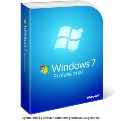 Windows 7 Professional [32 Bit & 64 Bit]  KEY SOFORTVERSAND PER EBAY NACHRICHT