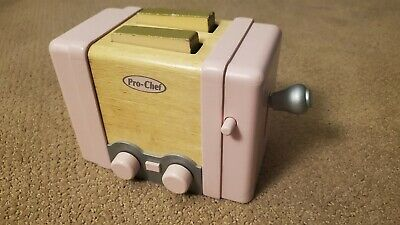 Pottery Barn Kids Pink Toaster For Wooden Retro Kitchen Pro Chef