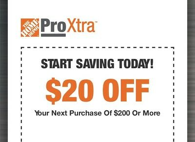 [HOME DEPOT COUPON] $20 Off $200 In-Store Purchase *Expires 3/1/2020*