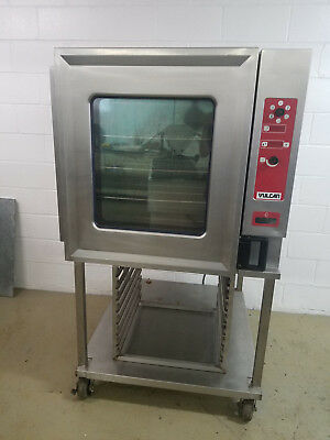 Vulcan VCGIOF Convection Oven with Steam 120 Volts 1 Phase Nat Gas Tested