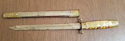 WWII Japanese Naval Officers Short Sword Knife Dagger Tanto Military Antique