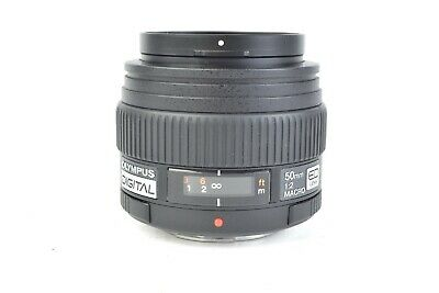 Olympus Zuiko Digital 50mm f/2 ED Macro Prime Lens for Four-Thirds Mount #E17406