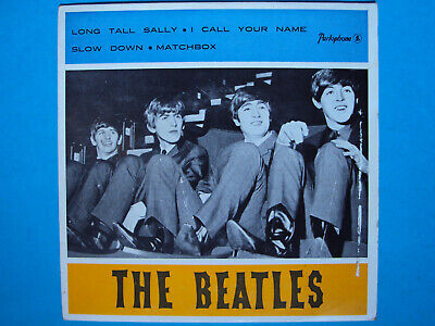 "PS only RARE 7"" ep THE BEATLES long tall Sally LGEP 4032 PORTUGAL 1964 no record"