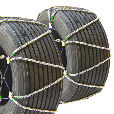 Titan Diagonal Cable Tire Chains Snow/Ice Covered Roads 17.64mm 9.00-20