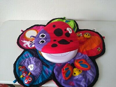 Lamaze Spin and Explore Garden Gym Baby Tummy Time