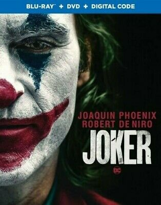 Joker Blu Ray ONLY (NO DVD and NO Digital Included) Brand New w/Sleeve