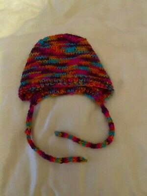 Hand made Hat for Girl without seams 3+ months
