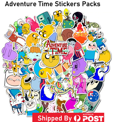 ADVENTURE TIME STICKER DECAL Pop Culture Laptop Phone Car Book Vinyl