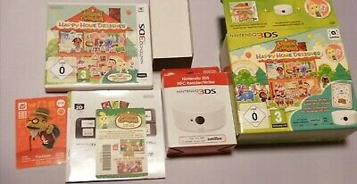 ANIMAL CROSSING HAPPY HOME DESIGNER WITH NFC READER AND AMIIBO CARD boxed